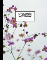 Literature Notebook: Composition Book for Literature Subject, Large Size, Ruled Paper, Gifts for Literature Teachers and Students