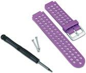 Garmin Forerunner 220 Horlogeband - Paars