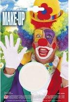 Witte schmink make-up