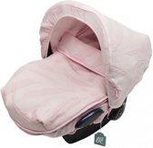 Baby Anne-Cy Veer Autostoelhoes en Voetenzak Old Pink