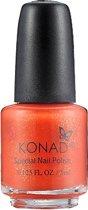 KONAD nagellak voor stempel ORANGE PEARL 39, 5 ml voor het stempelen op de nagels, niet te gebruiken als traditionele nagellak! De beste kwaliteit nagel stempel producten.