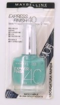 Maybelline Express Finish Nagellak - 862 Turquoise