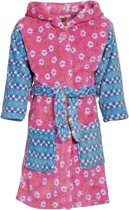 Playshoes UV badjas Kinderen Bloemen - Roze - Maat 146/152