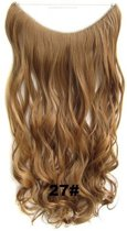 Wire hairextensions wavy blond - 27#