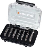 BLACK+DECKER 31 delige bits set A7201