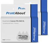 PrintAbout - Inktcartridge / Alternatief voor de C