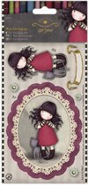 Mini decoupage gorjuss 12 stuks, 169106,  purrrrfect love
