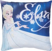 Disney Frozen Lights - sierkussen - 40 x 40 cm - Blauw