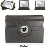 Apple iPad Air Draaibare tablethoes Zwart voor bescherming van tablet