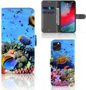 iPhone 11 Pro Max Telefoonhoesje met Pasjes Vissen