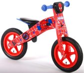 Ultimate Spider-Man Houten Loopfiets - Rood - 12 inch