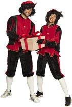 Pieten kostuum volwassenen rood (XL) - Carnavalskleding