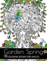 Garden Spring Coloring Books for Adults