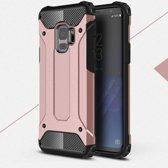 Samsung Galaxy S9 Armor Hybrid Case - Rose Gold