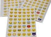 Emoji stickers - 240 stickers - 5 stickervellen