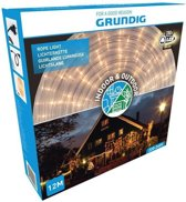 Grundig Lichtslang - 12 meter - 288 LED - warm wit