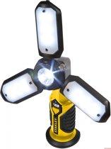 Stanley Satellite Werklamp Sat3s Led Oplaadbaar 400 Lumen Geel