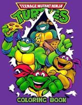 Teenage Mutant Ninja Turtles Coloring Book