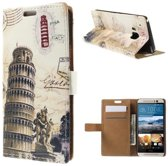 Leaning Tower Wallet Case HTC One M9