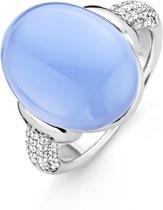 TI SENTO Milano Ring 12069LA - Maat 56 (17,75 mm) - Gerhodineerd Sterling Zilver
