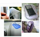 Telefoon antislipmat blauw van JY&K | dashboard voor in de auto | telefoon houder | klevend | slip matje |