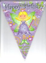 Fairy girl Happy Birthday