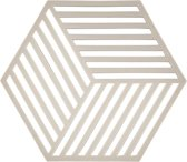 Zone Denmark Hexagon onderzetter - lichtgrijs