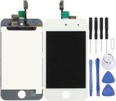 Lcd-scherm + Digitizer Aanraakpaneel voor iPod Touch 4 (wit)