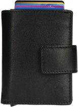 Figuretta Card Protector  RFID - Creditcardhouder - Leer - Zwart