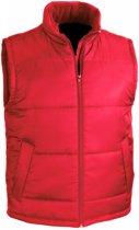 Senvi Classic Bodywarmer- Maat S - Kleur Rood