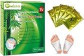 Godsen detox en afslank voetpleisters 10 stuks - Lichaamsreiniging Detox - 100% natuurlijke ingrediënten afvallen - ontgiften - meer energie. Helpt ook tegen moeheid pijntjes en depressie.