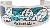 We Positive™ Silver & Green BN004