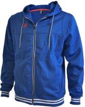 Brabo Tech Hooded  Trainingsjas - Maat XXL  - Mannen - blauw