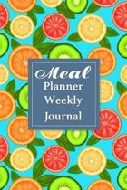 Meal Planner Weekly Journal