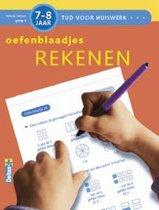 Tijd voor Huiswerk Oefenblaadjes Rekenen (7-8j.)