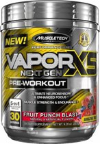 Muscletech NanoVapor X5 - Pre-workout - 232 gram (30 servings) - Blue Raspberry