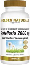 Golden Naturals Scutellaria 2000 mg (30 vegetarische capsules)