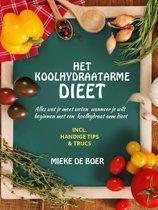 Boekomslag van 'Het koolhydraatarme dieet'