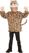 """""""Luipaard vest met capuchon voor kinderen - Verkleedkleding - 98/104"""""""