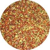 Biologische paprikavlokken rood-groen 1 kg