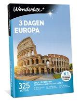 Wonderbox Cadeaubon - 3 Dagen Europa