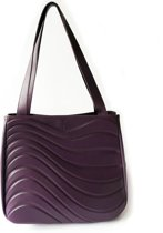 Onde Tote bag - Dark Grapes