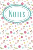 Sewing Buttons Seamstress Notebook: Portable Daily Journal
