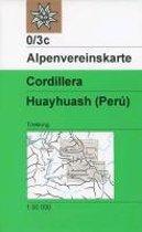 DAV Alpenvereinskarte 0/3C Cordillera Huayhuash Peru 1 : 50 000
