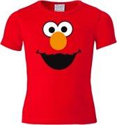 Logoshirt T-Shirt mit Elmo Gesicht-Frontdruck