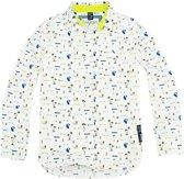 Sevenoneseven hemd jongens - print - Camron - maat 158/164