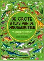 Omslag van 'De grote atlas van de dinosaurussen'