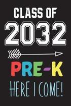 Class of 2032 Pre-K Here I Come!