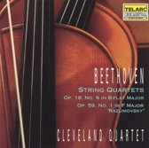 Beethoven: String Quartets Opp 18 & 59 / Cleveland Quartet