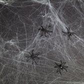 Halloween Decoratie spinnenweb 500 gram
